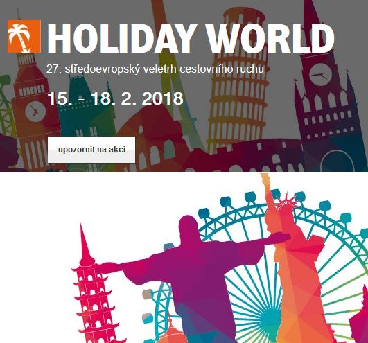 Holiday World – Incheba Expo Praha
