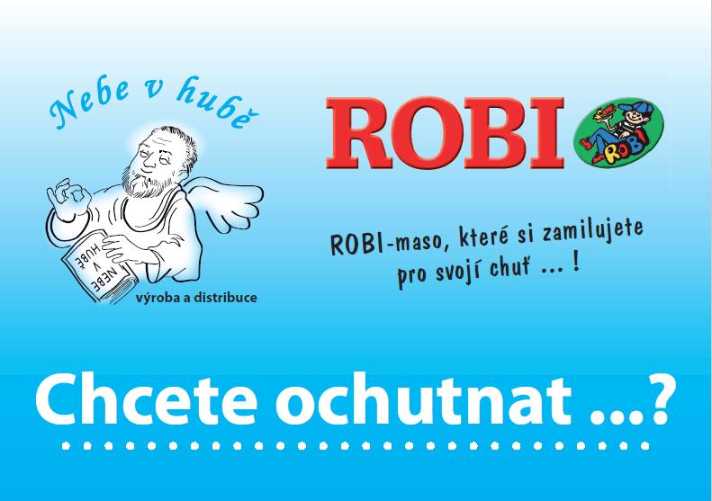 česká potravina ROBI (rostlinná bílkovina)