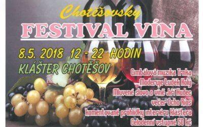 Festival vína – Chotěšov