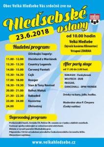 Velká Hleďsebe - Hleďsebské oslavy 2018