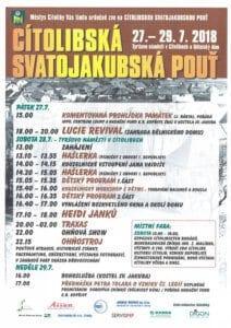 Cítolibská Svatojakubská pouť - Cítoliby 2018