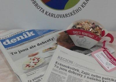 Karlovarský deník - Dobrota Karlovarského kraje (3)