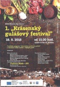 1. Krásenský gulášový festival