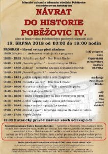 Návrat do historie Poběžovic IV. 2018