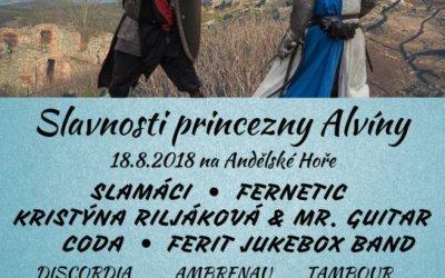 Slavnosti princezny Alvíny