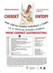 Chebský eintopf gastrofestival 2018