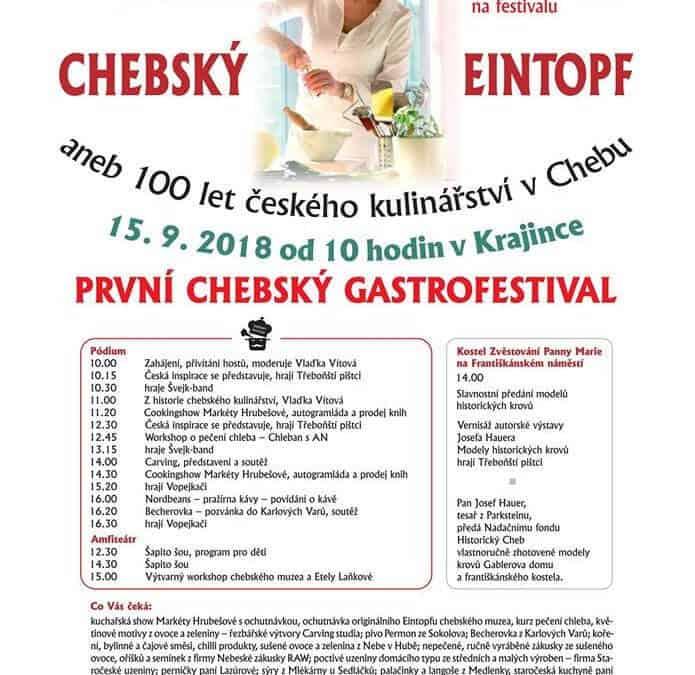 Chebský eintopf, gastrofestival