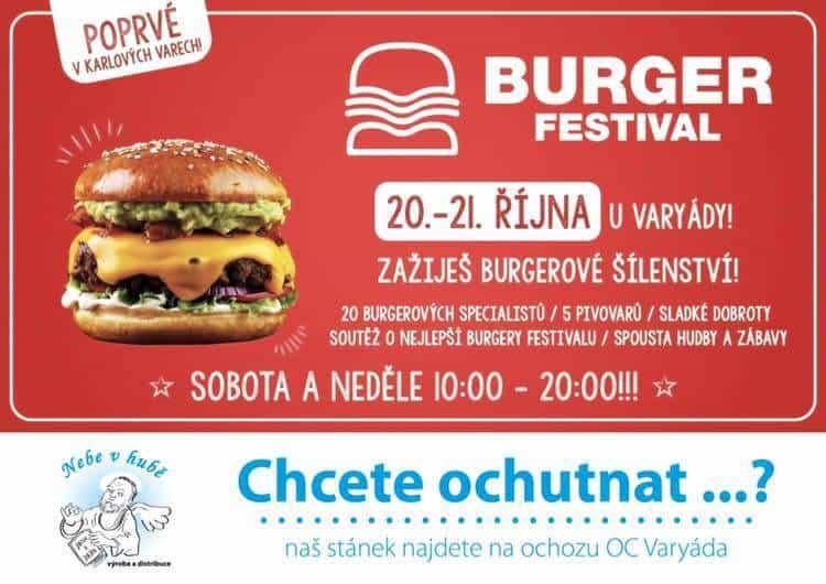 Burger festival, Karlovy Vary