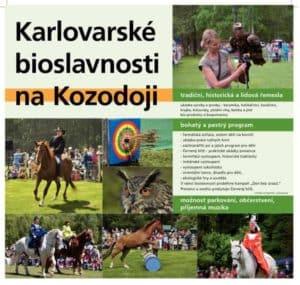 Karlovarske bioslavnosti na Kozodoji