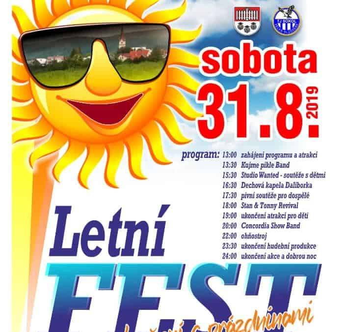 V. Hleďsebský letní fest