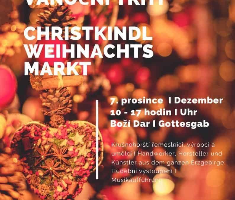 Ježíškovi vánoční trhy – Boží Dar