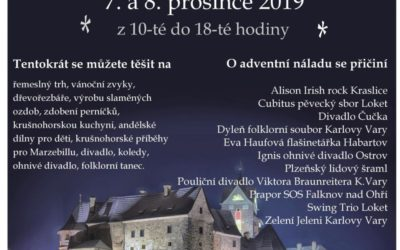 Krušnohorské Vánoce na hradě a ve městě Loket