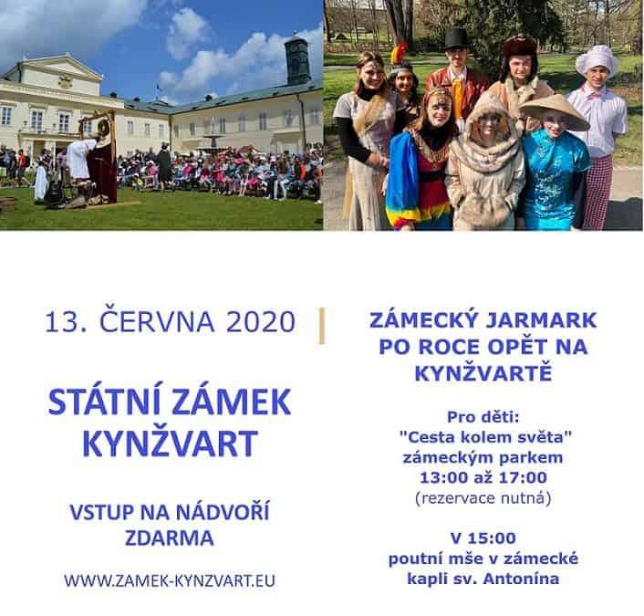 zámecké slavnosti na zámku Kynžvart