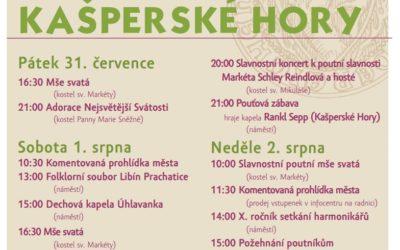 Kašperskohorská pouť – Kašperské Hory, náměstí