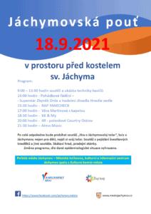 Jachymovska pout 2021