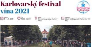 Karlovarsky festival vina 2021