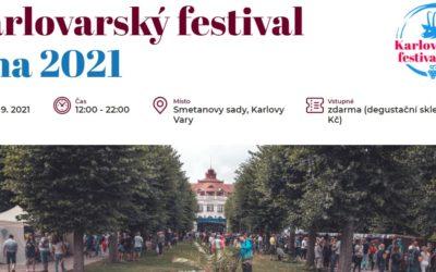 Karlovarský festival vína 2021